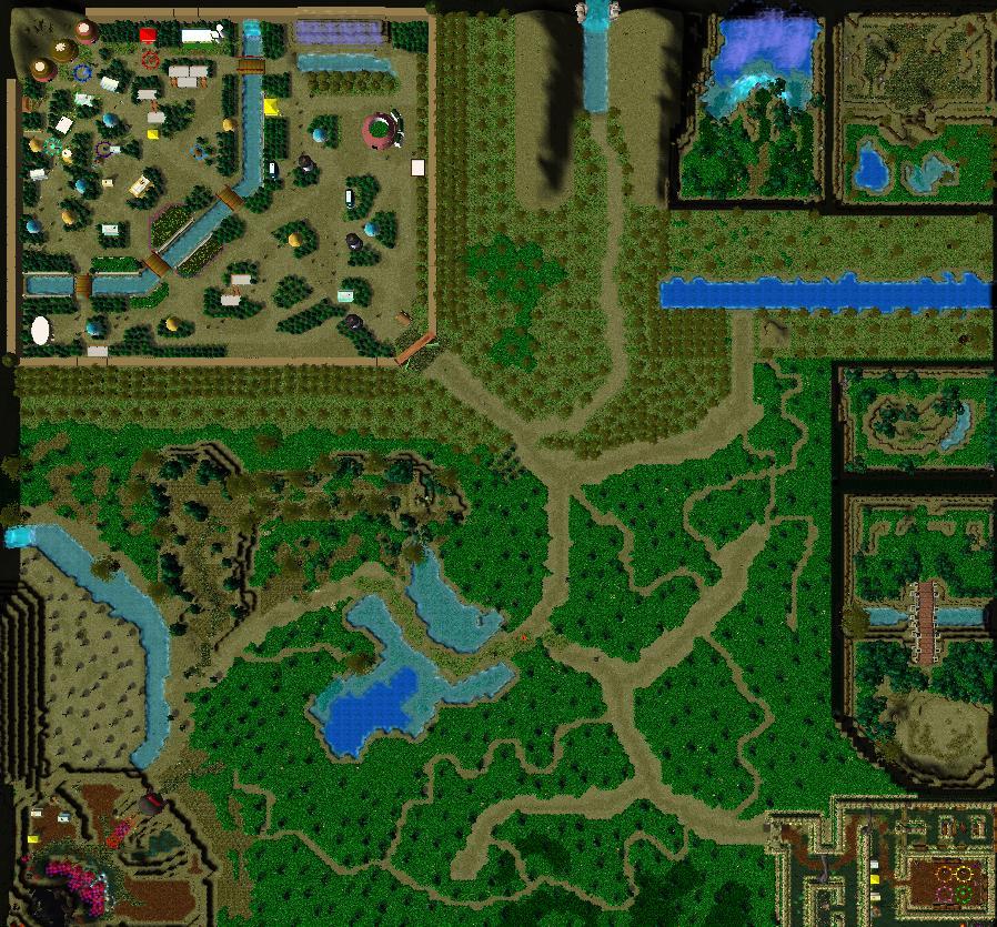 U9 NSWOaN v1 WarCraft 3 Map WarCraft 3 Nibbits